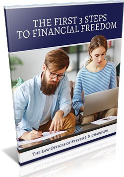 First Three Steps to Financial Freedom