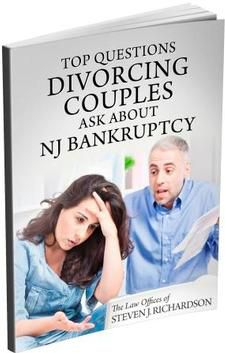 Top Questions Divorcing Couples Ask About NJ Bankruptcy