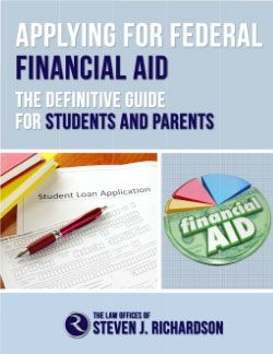 Overwhelmed by the financial aid process? Want to be sure you make informed choices? Then you need this book!