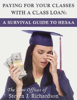 Getting Sued by HESAA Because You Can't Pay Your NJ CLASS Student Loan? Stressed Out Because Co-Signing Family Members Are Being Sucked In With You? Then Get the Book That Tells You What to Do to Fix Things for Yourself and Your Family!